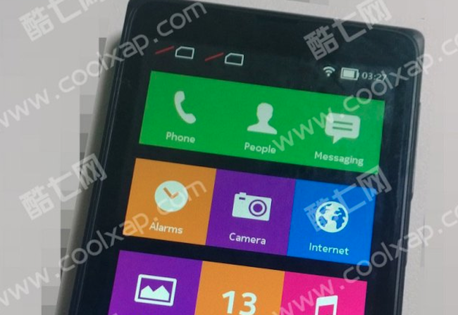 Nokia X Android smartphone photos leaked ahead of MWC, revealing Windows Phone-like UI - photo 1