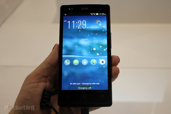 Hands on: Acer Liquid E3 review - photo 2