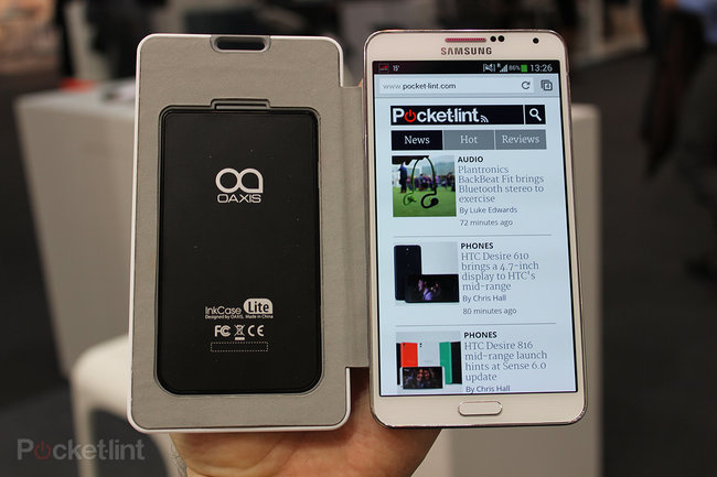 Oaxis InkCase pictures and hands-on - photo 3
