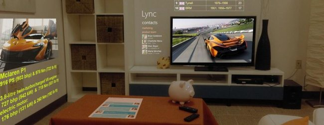 Microsoft Research creates 3D browser to beam content to every wall of your room - photo 1