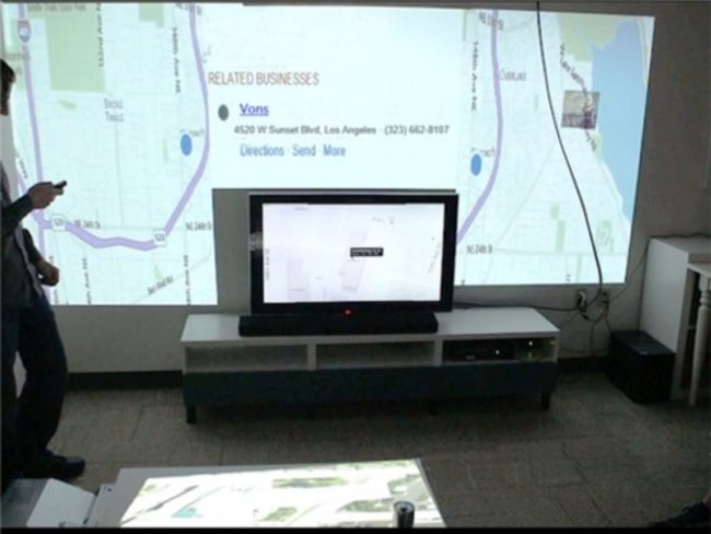 Microsoft Research creates 3D browser to beam content to every wall of your room - photo 2
