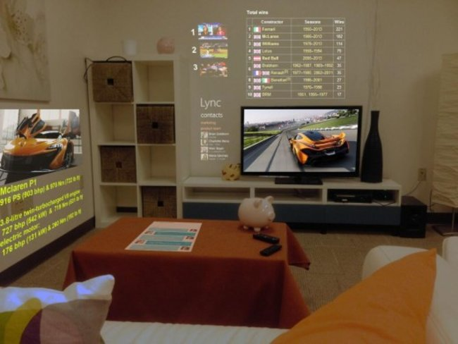 Microsoft Research creates 3D browser to beam content to every wall of your room - photo 4