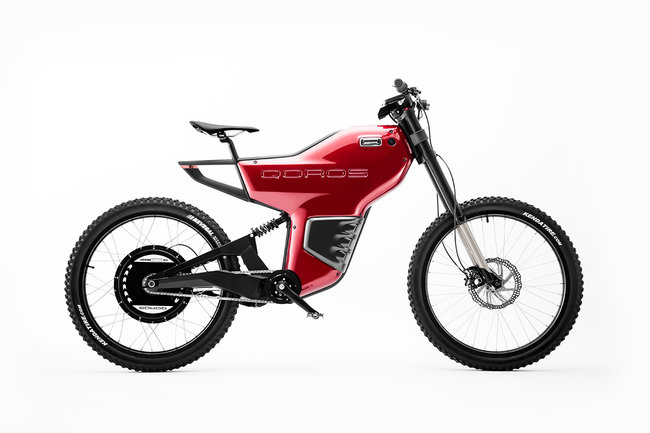 Qoros eBiqe Concept electric bicycle can hit 40mph with a 75 mile range - photo 1