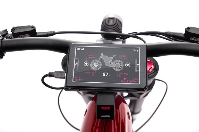 Qoros eBiqe Concept electric bicycle can hit 40mph with a 75 mile range - photo 5