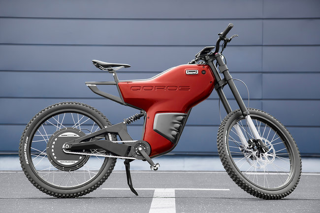Qoros eBiqe Concept electric bicycle can hit 40mph with a 75 mile range - photo 9