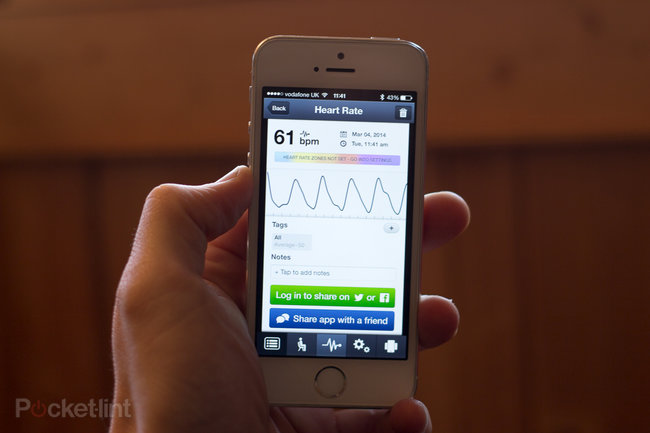 Samsung Galaxy S5 heart rate monitor vs iPhone 5S heart rate monitor: What's the difference? - photo 12