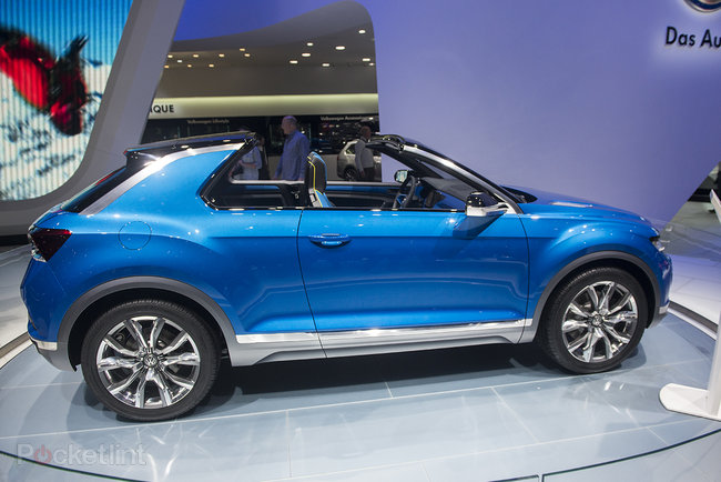 Volkswagen T-Roc pictures and eyes-on: The open-top SUV concept - photo 2