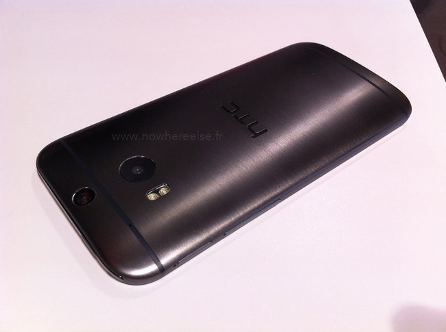 HTC One (M8) photographed with iPhone 5S, Galaxy S4, Xperia Z1 and LG G2 - photo 7