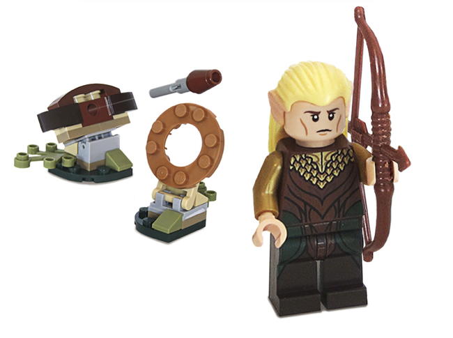 Hobbit: Desolation of Smaug Blu-ray set comes with free Hobbit Lego - photo 2
