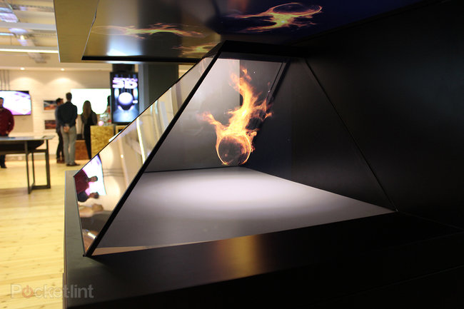 We've seen the future of public displays and holograms, and they like to be touched - photo 1