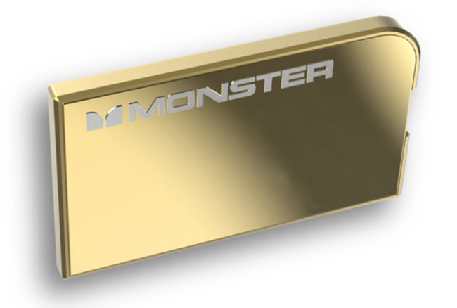 Could Monster's 24K gold and platinum PowerCard phone chargers be most expensive out there? - photo 2