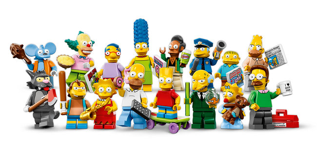 Lego Simpsons minifigures revealed ahead of 4 May special episode airing (UK updated) - photo 1