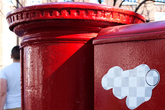 Street art project wipes out London's ugly spots with Photoshop eraser graffiti - photo 2