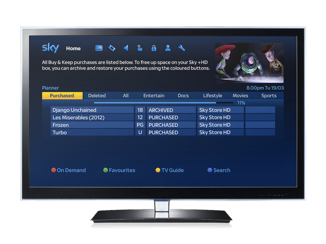 Sky Buy & Keep service lets you do just that with new movies - photo 15
