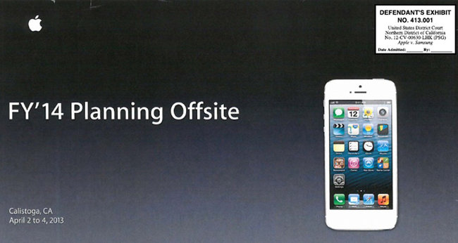 Internal Apple presentation hints at larger iPhone for 2014 - photo 1