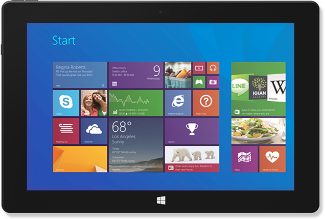 Schenker Element 10.1 Windows 8.1 tablet looks like a Surface 2, but for £60 less - photo 1