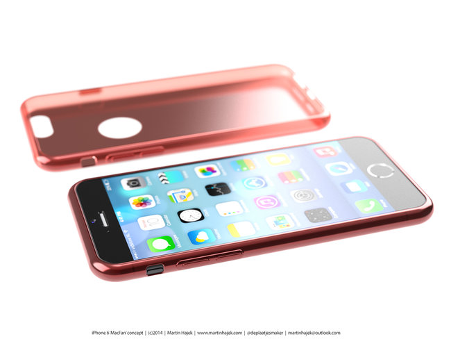 iPhone 6 concept renders give a glimpse at just how beautiful Apple's future could be - photo 3