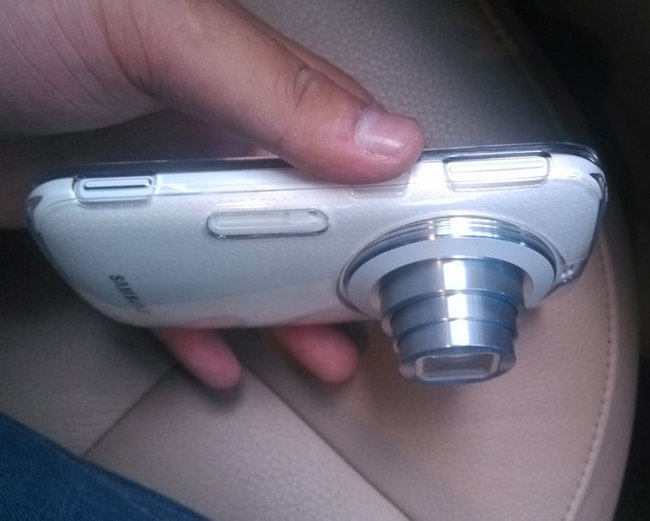 Samsung Galaxy K pictured ahead of announcement again, slimmer than SGS4 Zoom - photo 2