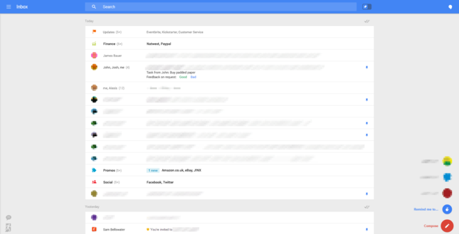 Radical Gmail overhaul leaked in screenshots, revealing all-new interface - photo 1