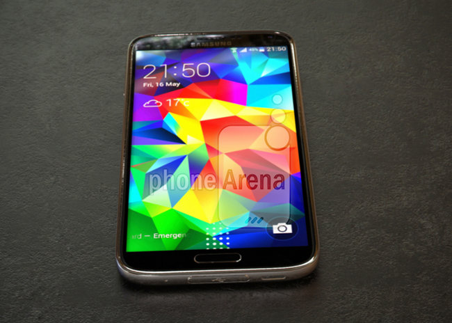 Metal Samsung Galaxy S5 Prime revealed in leaked photos - photo 1
