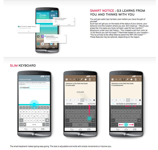 LG G3 flagship fully leaked by Dutch LG website ahead of 27 May unveiling - photo 3