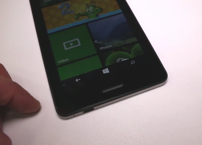 Wistron Tiger is the world's largest Windows Phone at 6.45-inches - photo 2