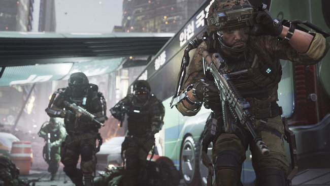 Call of Duty: Advanced Warfare preview: Invisibility, guns, grenades and jetpacks in 2058 - photo 1