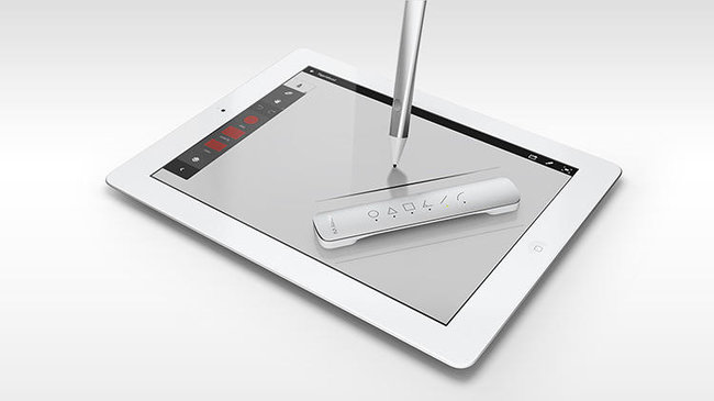 Adobe launches first hardware set: Ink smart pen and Line smart ruler for drawing on iPad - photo 11