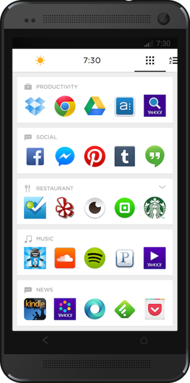 Now Yahoo gets in on the Android launcher game with Aviate app - photo 10