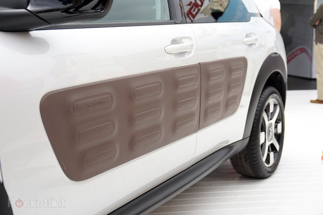 Citroen C4 Cactus in pictures: The car with air cushions for bumpers - photo 15