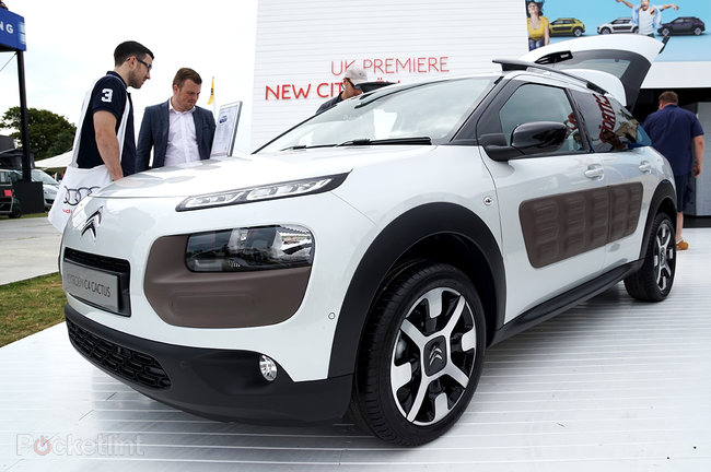 Citroen C4 Cactus in pictures: The car with air cushions for bumpers - photo 2