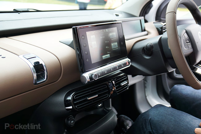 Citroen C4 Cactus in pictures: The car with air cushions for bumpers - photo 7