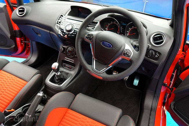 Ford Fiesta ST3 (2014): First drive in peppy new 1.6L turbo - photo 4