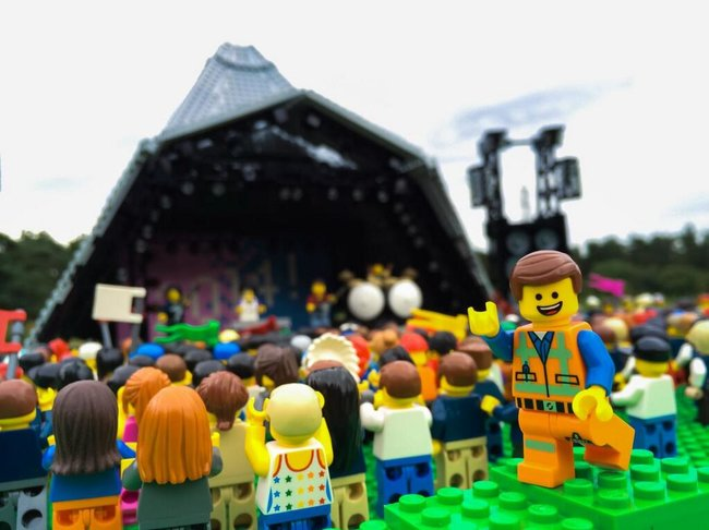 What's more awesome than Glastonbury? Lego Glastonbury - photo 1