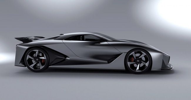 Nissan Concept 2020 Vision GT is a Gran Turismo 6 supercar in the flesh - photo 4