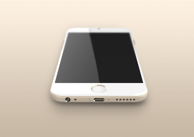 Apple iPhone 6 compared in gold, space grey and silver renders - photo 2