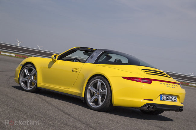 Porsche 911 Targa 4 review: A modernised blast from the past - photo 4