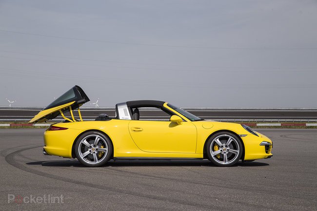Porsche 911 Targa 4 review: A modernised blast from the past - photo 9