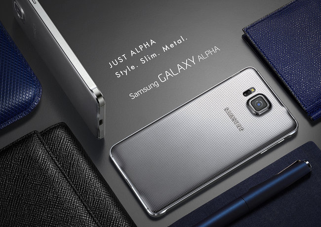Metal Samsung Galaxy Alpha official: HR sensor, fingerprint reader, 300Mbps 4G LTE - photo 4