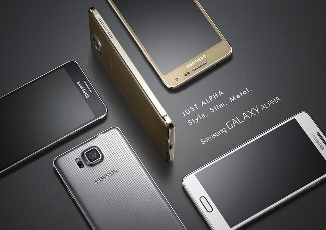 Metal Samsung Galaxy Alpha official: HR sensor, fingerprint reader, 300Mbps 4G LTE - photo 5