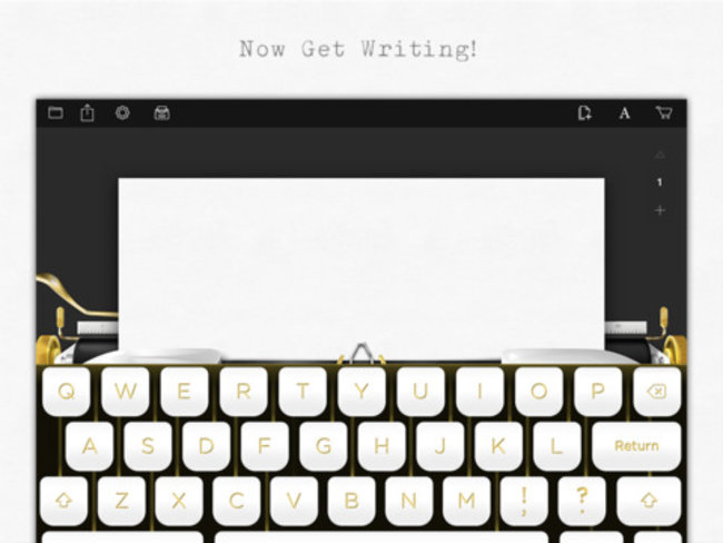 Typewriter collector and actor Tom Hanks releases typewriter app for iPad (Update) - photo 1
