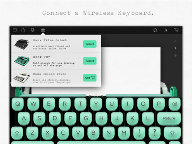 Typewriter collector and actor Tom Hanks releases typewriter app for iPad (Update) - photo 6