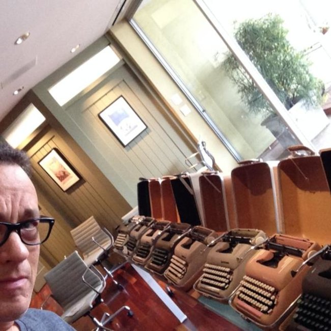 Typewriter collector and actor Tom Hanks releases typewriter app for iPad (Update) - photo 8