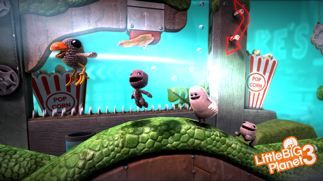 Little Big Planet 3 gameplay preview: PS4 sequel focuses on multiplayer - photo 1