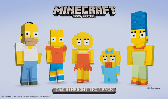 Gallery - Best Minecraft skins in pictures: The Simpsons ...