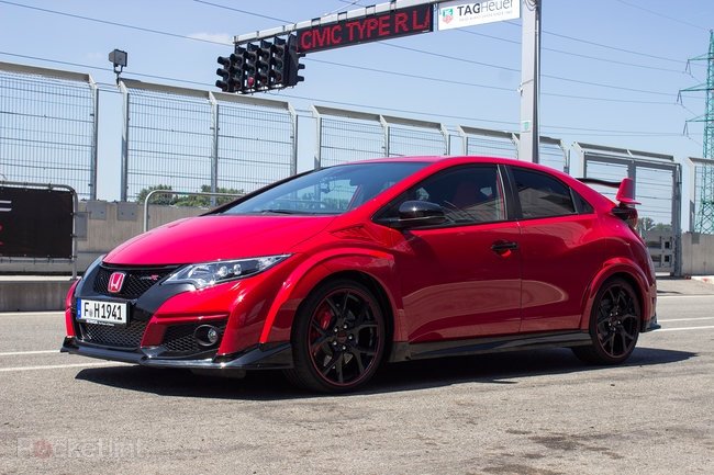 Civic type r 2015 first drive a track car for the road photo 2