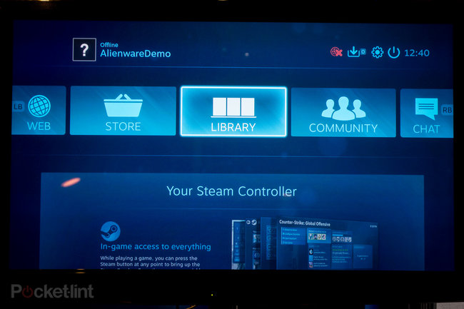 Alienware Steam Machine will soon be available to take on PS4 and Xbox One, here are our first impressions - photo 12
