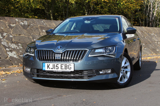 Skoda Superb review: At the business end - photo 1