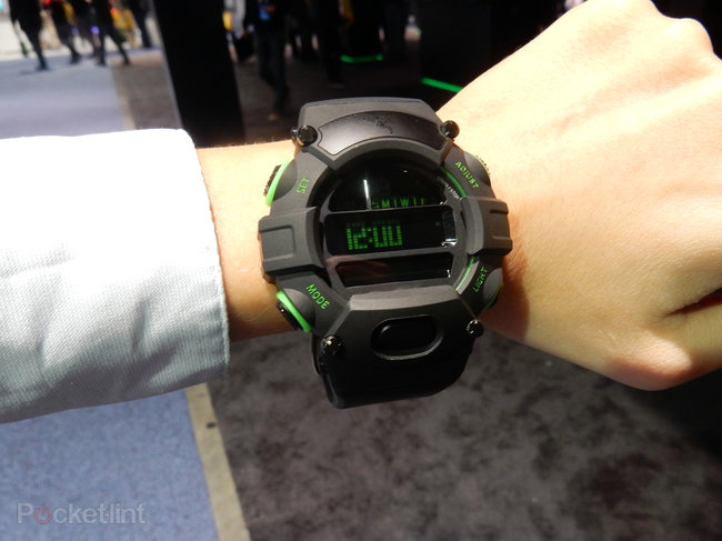 Razer Nabu Watch: Here's that enormous digital watch with some 'smart functions' - photo 1