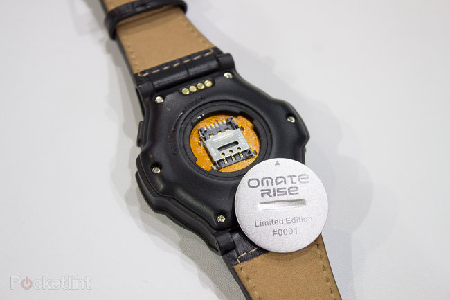 Omate Rise preview: Full Android 3G smartwatch with carbon fibre for $280 - photo 14